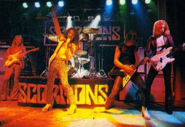 Scorpions Taken by force Tour